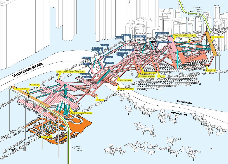 Karte China Hong Kong.Hong Kong Shenzhen Anzeigen Shenzhen Hong Kong Karte China