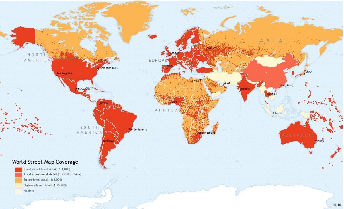 Hong Kong world map - Hong Kong Lage auf der Weltkarte (China)